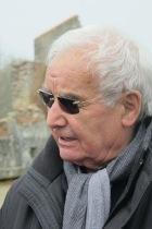 Robert Hébras superviviente de la matanza de Oradour Sur Glane, y nuestro guía en la visita
