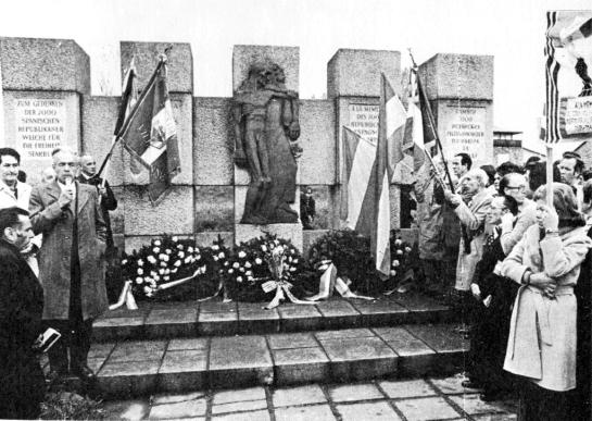 Inauguracion mauthausen