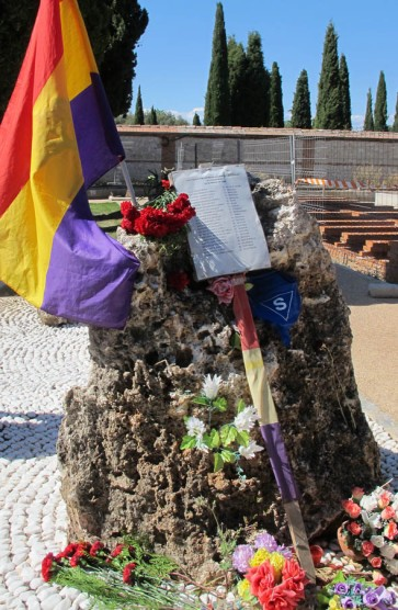 II homenaje a las víctimas del franquismo y del nazismo en Guadalajara.