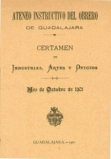Documentos del Ateneo Instructivo del Obrero. Fuente: Archivo Municipal de Guadalajara