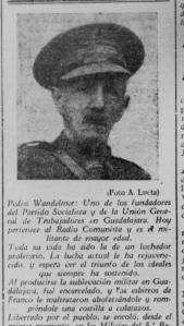 Pedro Wandelmer, padre de Emiliano Wandelder