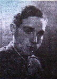Emiliano Wandelmer, secretario general de las JSU de Guadalajara en 1936