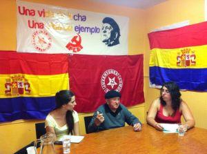 Homenaje de UJCE de Guadalajara a Trifón Cañamares (2014) Foto FMGU