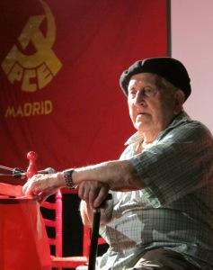 Trifón en el homenaje que recibió cuando cumplió 100 años (2011)