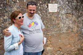 Yolanda Lozano, vecina del pueblo. FMGU/Óscar de Marcos