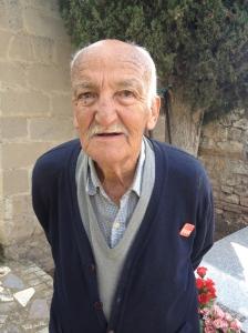 juan Palomeque Viejo, veterano socialista, orgulloso de su militancia. Ha fallecido a los 91 años, Foto: FMGU