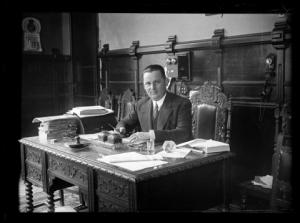 Fernando Palanca durante su época de alcalde: (AFGU-00008-00867-VD)