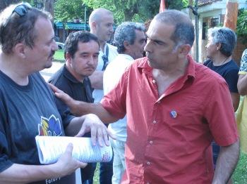 Concentración por un compromiso político y electoral con las víctimas de la dictadura franquista