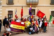 Frente a la antigua comandancia republicana Torija. Óscar de Marcos/FMGU