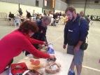 Almuerzo en Torija. Xulio Garcia/FMGU