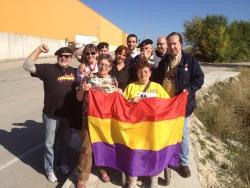 Con compañeros alemanes. Xulio Garcia/FMGU