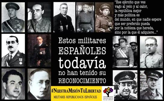 Militares republicanos españoles