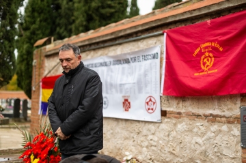 Enrique de Santiago, str gral PCE. Foto: Nacho Izquierdo