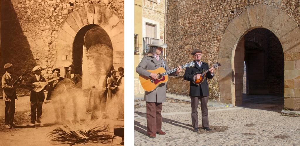 Los Hermanos Cubero en homenaje a los Castel en Palazuelos.